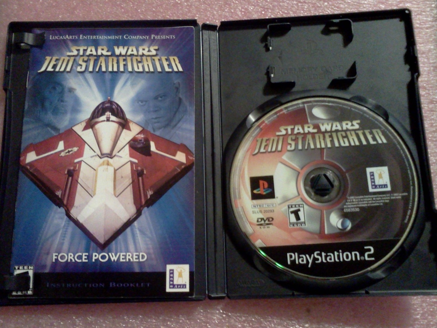 Star Wars: Jedi Starfighter (Sony PlayStation 2, 2002) PS2