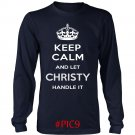 Keep Calm And Let CHRISTY Handle It