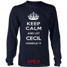 Keep Calm And Let CECIL Handle It