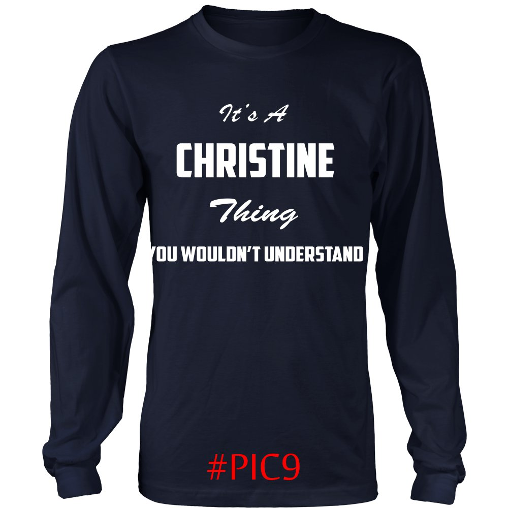 Its CHRISTINE Thing You Wouldnt Understand