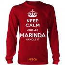 Keep Calm And Let MARINDA Handle It