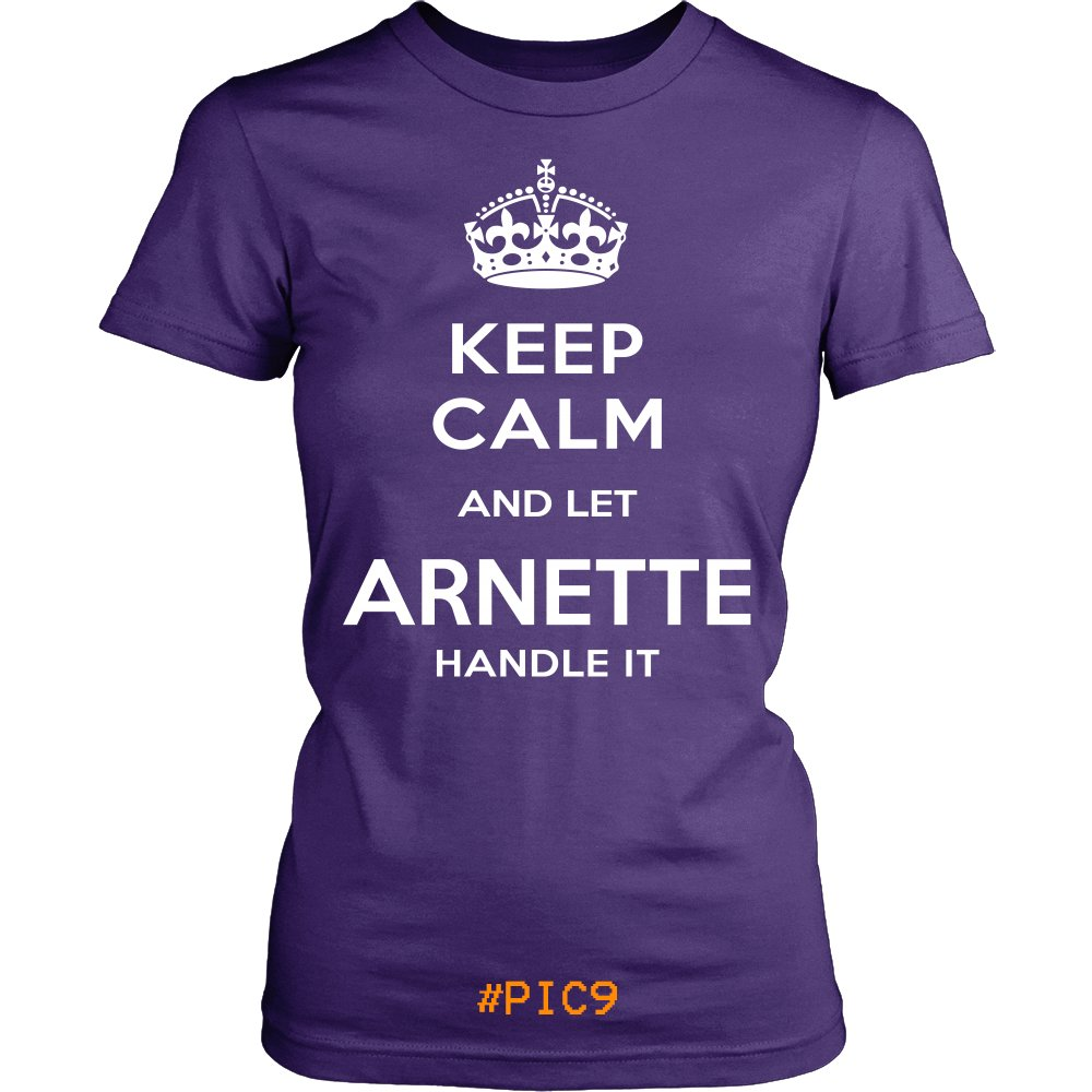Keep Calm And Let ARNETTE Handle It