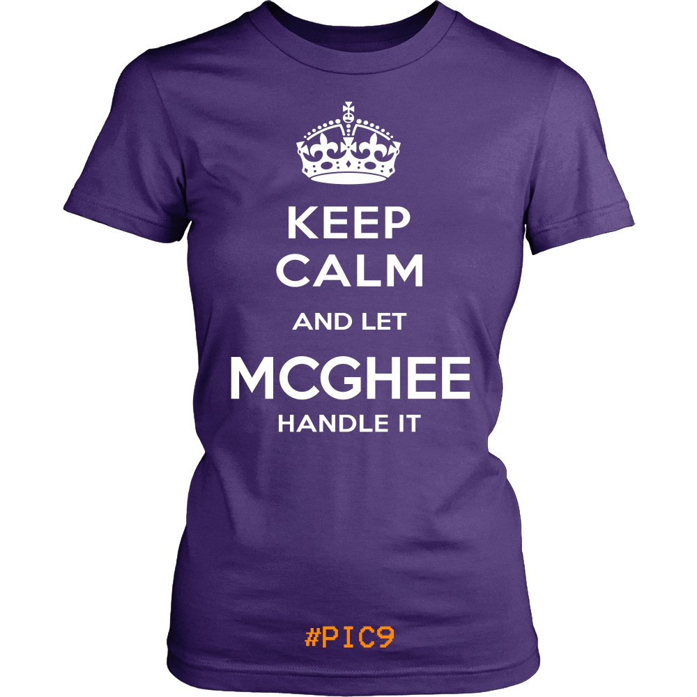 Keep Calm And Let MCGHEE Handle It