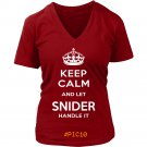 Keep Calm And Let SNIDER Handle It