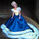 Barbie Fashion Yellow and Blue Wedding Party Gown Clothes Outfits Dress  xpress2shop
