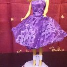BARBIE VIOLET LACE ROYALTY PRINCESS PARTY DRESS GIRLS GIFTS xpress2shop