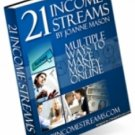 21 Income Streams PDF eBook    delicias2shop