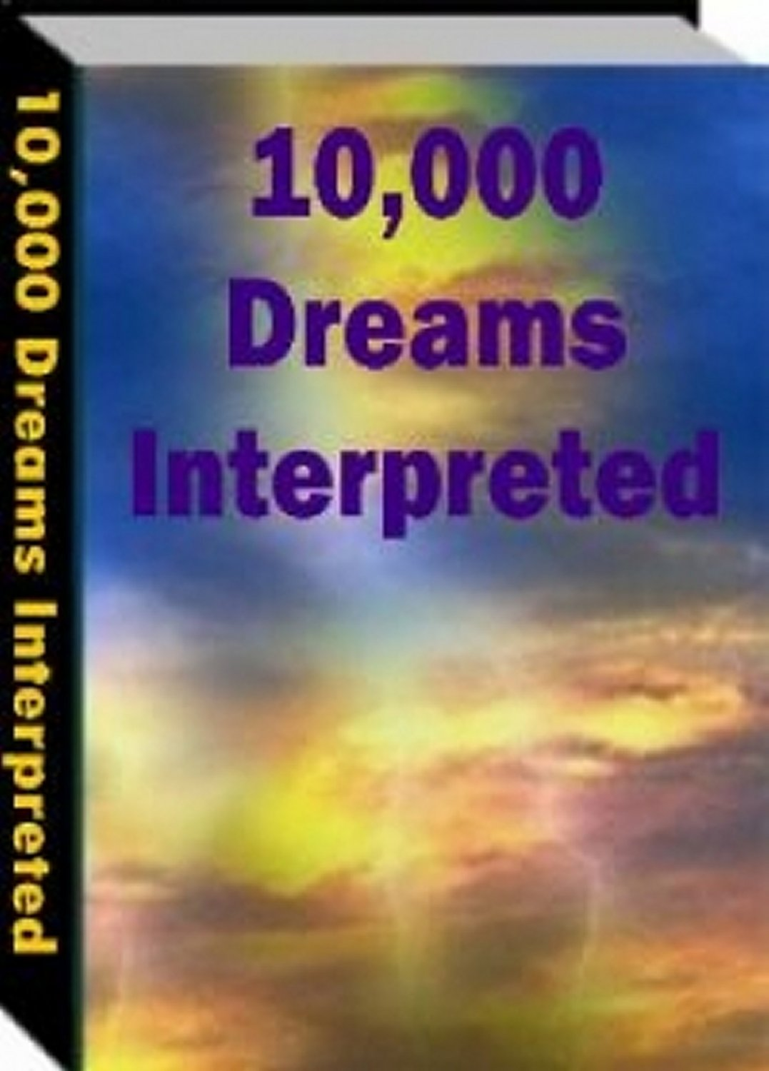 10,000 Dreams Interpreted PDF ebook  xpress2shop