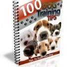 100 Dog Training Tips PDF eBook    delicias2shop