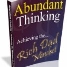 ABUNDANT THINKING PDF eBook  xpress2shop