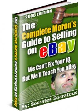 Moron's Guide to Selling on Ebay EBOOK PDF   delicias2shop