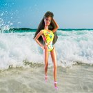 Barbie princess summer swimming fun girls gifts swimsuit delicias2shop