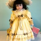 """Sarah 22"""" doll by William Tung with stand, box delicias2shop"""