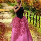 Barbie Doll Dress Pretty In Pink Collection delicias2shop