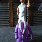 Ken White/Violet Vintage Tuxedo Suit  delicias2shop