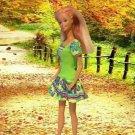 Barbie Green Multi Colors Party Delicias2shop
