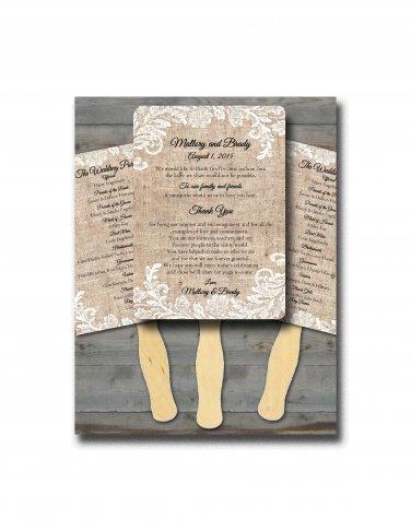 Personalized Wedding Program Fans/Wedding Fan Programs/ Wedding fans for guests