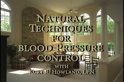 """""""Natural Techniques to control your Blood Pressure Control"""" DVD"""