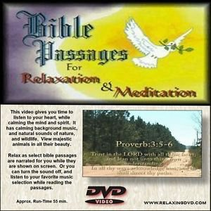 Bible Passages for Meditation & Relaxation DVD