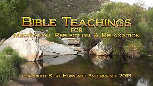 Bible Teachings for Meditation Relaxation Video, DVD