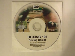 """BOXING 101, Boxing Basics"" Beginners video guide to boxing, Instructional DVD"