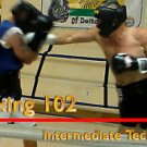 """BOXING 102, Intermediate Techniques boxing video, DVD lessons, Good for MMA too"