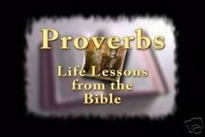 """3 DVD's """"Proverbs"""", """"Words Miracles of Jesus"""" , """"Bible Passages"""" for Meditation"""