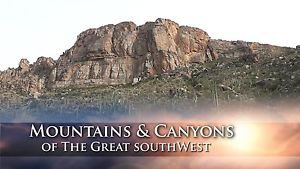"""""""Mountains & Canyons of the Great Southwest"""" Relaxation / Travel Video DVD"""