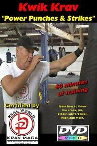 """Power Punches & Strikes"" Plus ""Conditioning & Krav Maga Practice Drills"", DVD's"