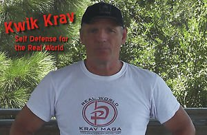 """KWIK KRAV III"" Krav Maga Self Defense Video for those with No Time to Train DVD"