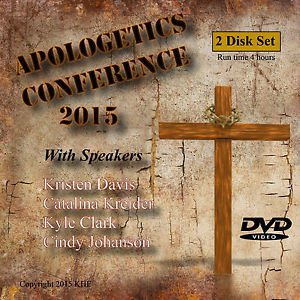 """""""APOLOGETICS CONFERENCE"""", Learn to Defend Your Faith.  2 DVD Set"""