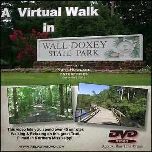 """""""WALL DOXEY TRAIL WALK"""" great way to exercise on a treadmill, stairstepper"""