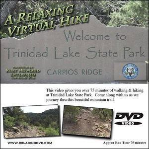 """""""COLORADO TRAIL WALK-HIKE"""" great way to exercise on a treadmill or stairstepper"""