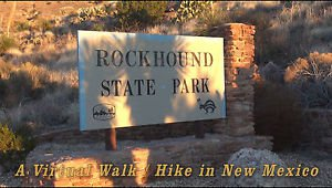 """NEW MEXICO VIRTUAL WALK / HIKE"" , at RockHound State Park, Exercise, Travel DVD"