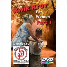 """KRAV MAGA for Women"" 5 Disk Set, includes ""WORKOUT-KICKS-PUNCHES-& KRAV DVD'S"