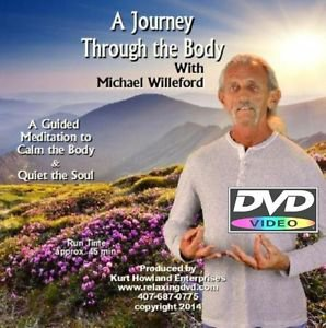 """""""A Journey through the Body DVD"""", A Guided Meditation & Relaxation Video"""