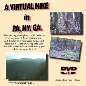 """A VIRTUAL HIKE"" filmed in New York, Pennsylvania, and Georgia"