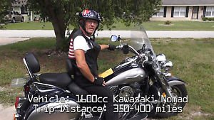 """""""Virtual Motorcycle Tour of  Central & North Florida"""" Relaxation / Travel DVD"""