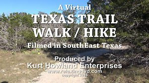 """TEXAS TRAIL WALK / HIKE"" Treadmill, Stair Stepper, Exercise DVD"