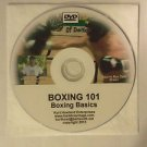"""BOXING 101 & 102, 2 Disk Video set of Boxing Lessons, DVD's For Boxing or MMA"