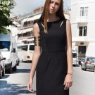 Cut Out Dress black