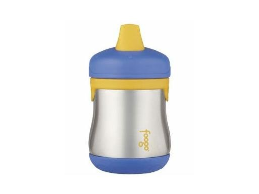 Foogo Stainless Steel Sippy Cup - Blue