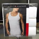 Tommy Hilfiger 3 Three Pack Classic White Cotton Tank Top Undershirt MSRP $39.50
