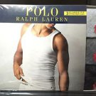 Polo Ralph Lauren 3 Three Pack Classic Fit Cotton Ribbed Tanks Top Grey Black