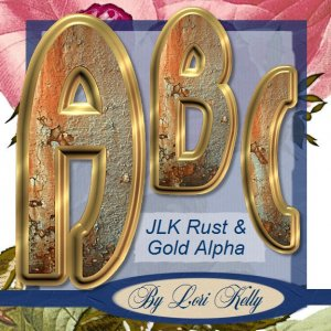 Rust & Gold Alpha - ON SALE!