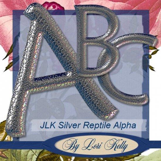 Silver Reptile Alpha - ON SALE!