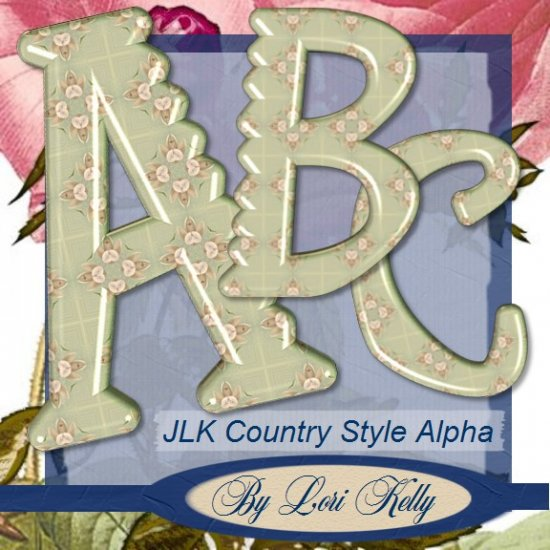 Country Style Alpha - ON SALE!
