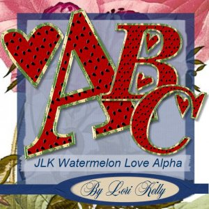 JLK Watermelon Love Alpha - ON SALE!