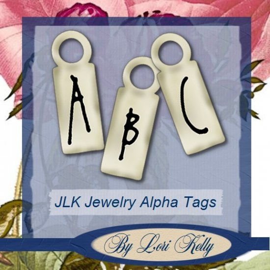 JLK Jewelry Alpha Tags