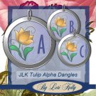 JLK Tulip Alpha Dangles - ON SALE!